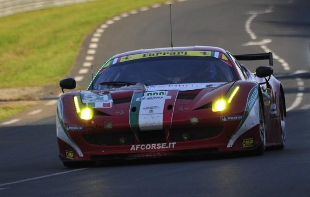 Ferrari en route to LMGTE Pro win - Anne Proffit photo