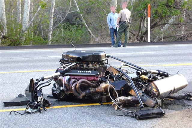 Wrecked Exotics 10 Most Expensive Crashes Ever