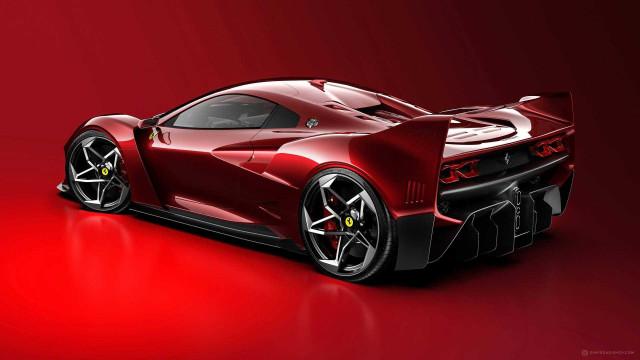 Ferrari F40 Tribute by Samir Sadikhov