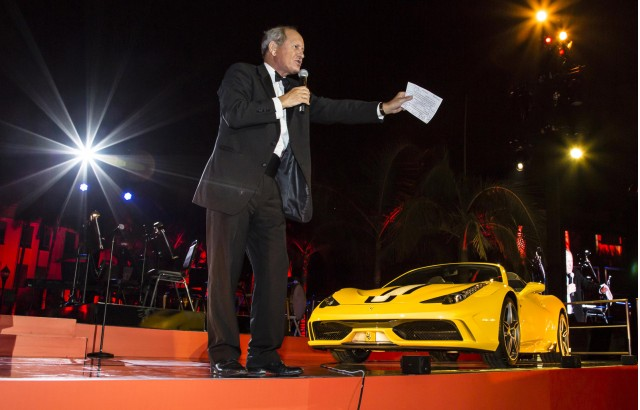 First Ferrari 458 Speciale A charity auction in Beverly Hills, California