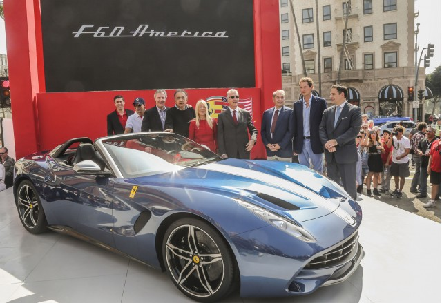 Ferrari F60 America launch, Beverly Hills, California