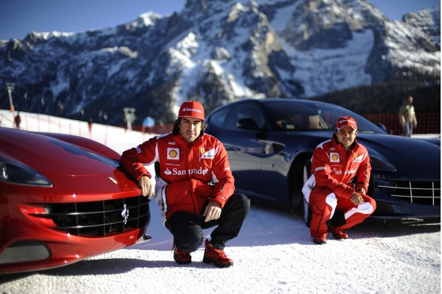 Ferrari FF Slalom race