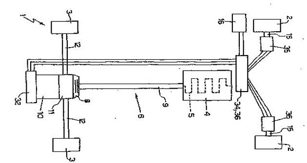 Ferrari hybrid patent