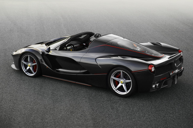 The wheel weight placet on a Ferrari LaFerrari will surprise you