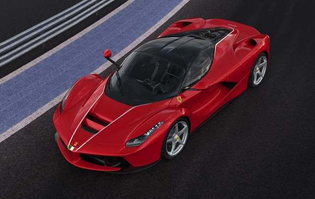 Ferrari LaFerrari number 500 built for 2016 Italian earthquake charity fund