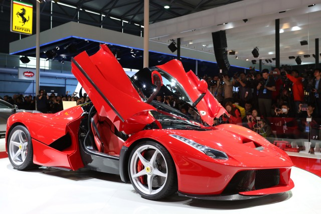 Ferrari LaFerrari Spider In The Works - Ferrari car show