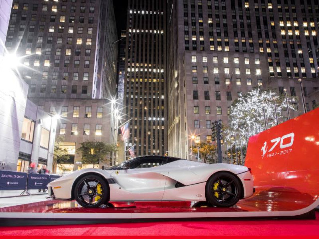 Ferrari LaFerrari in New York City