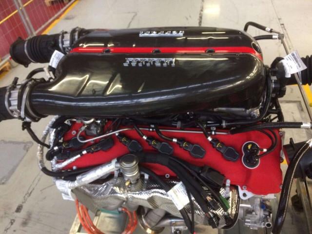 Ferrari LaFerrari's 6.3-liter V-12 engine for sale on eBay