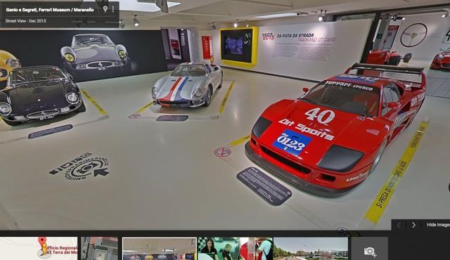 Ferrari Museum on Google Maps