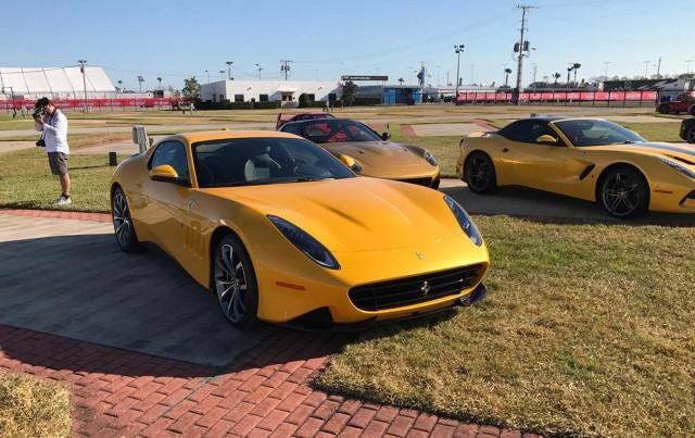Ferrari SP 275 RW Competizione - Image via Ferrari F12 TdF Facebook page