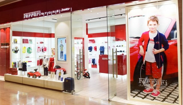Ferrari Store Junior in Shanghai, China