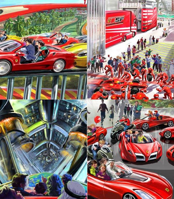 Image: Ferrari World Abu Dhabi Attractions, Size: 600 X
