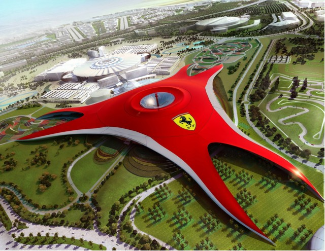 Ferrari World Abu Dhabi theme park