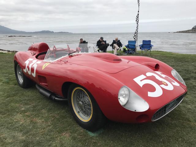 1957 Ferrari 315 S Scaglietti Spyder, 2017 Pebble Beach Concours d'Elegance