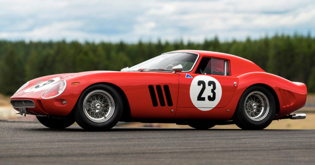 Ferrari GTO Scaglietti breaks auction record