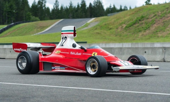 Niki Lauda's 1975 Ferrari 312T heads to auction