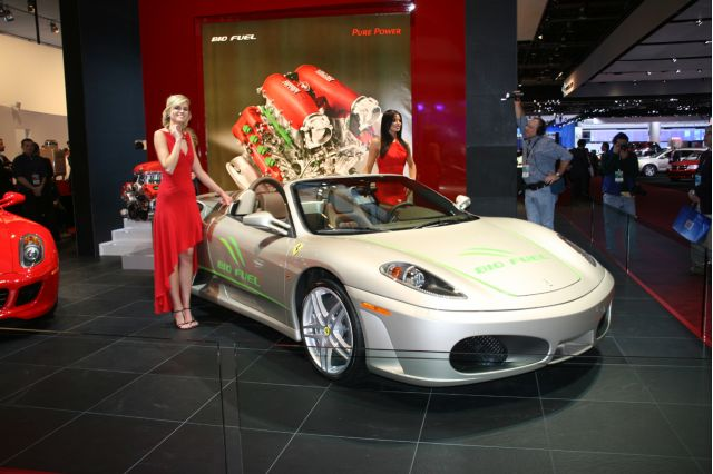 Hybrid Ferrari To Launch At LA Auto Show In December - Ferrari car show