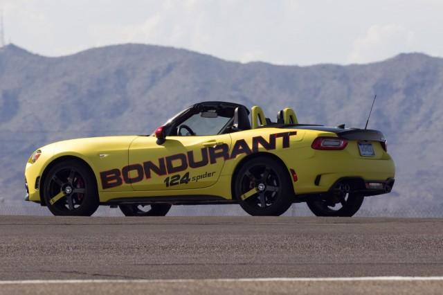 Fiat 124 Spider Abarth joins Bondurant for new Abarth Track Experience