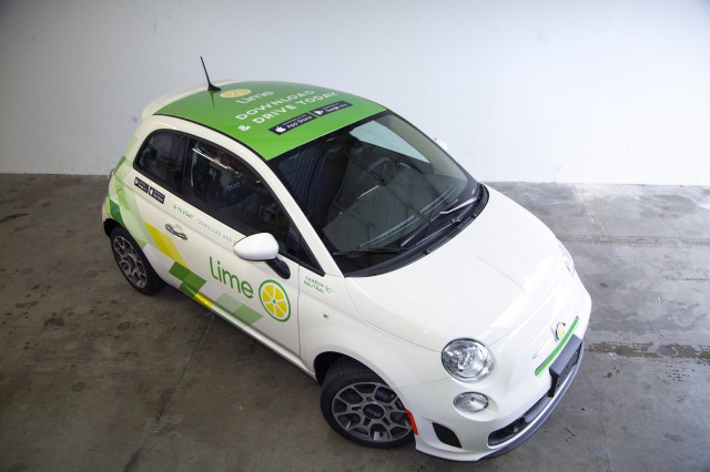 Lime launches car-share service in Seattle