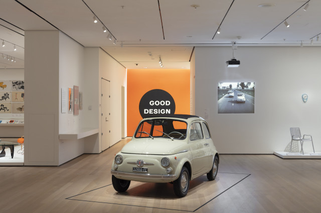 1965 Fiat 500 at New York Museum of Modern Art