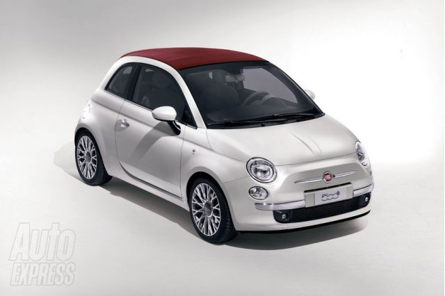 Fiat 500C via AutoExpress