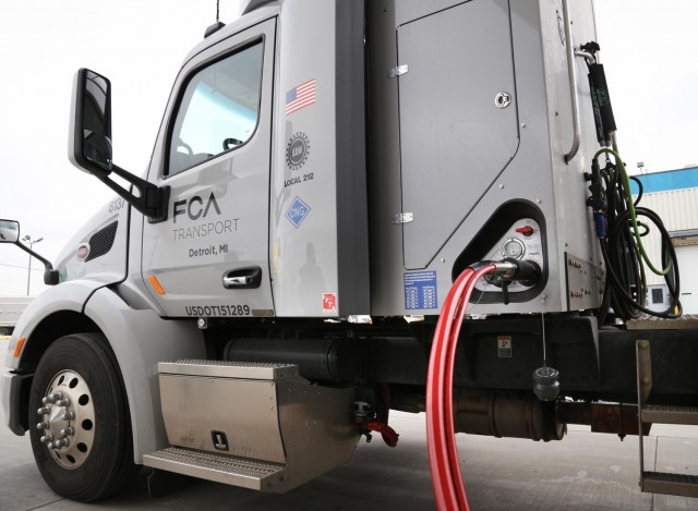 Fiat Chrysler Automobiles unveils fleet of CNG trucks
