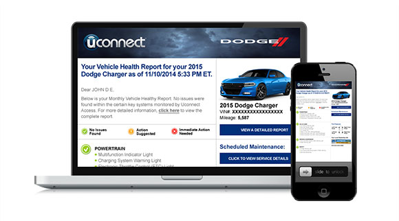 Fiat Chrysler UConnect Access services
