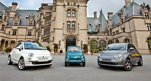 Fiat Cinquecento Prima Edizione launch party