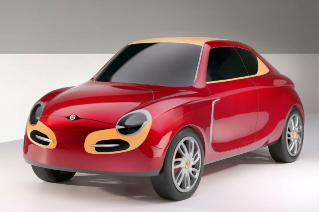 Fiat Lussino plug-in hybrid [Image: Joseph Martinez/Coroflot]