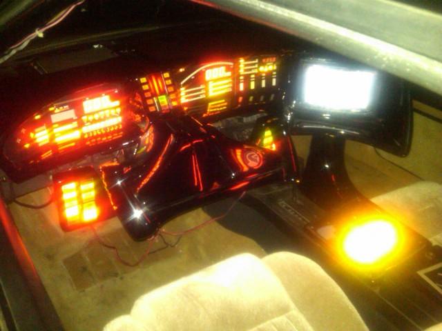Fireball Run - Dynamic Auto Restoration K.I.T.T.
