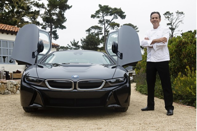 First 2015 BMW i8 plug-in hybrid coupes delivered at Pebble Beach