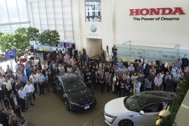 First 2017 Honda Clarity Fuel Cell deliveries, Torrance, California