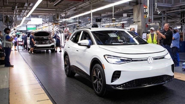 First 2021 Volkswagen ID.4 validation build completed at Chattanooga factory