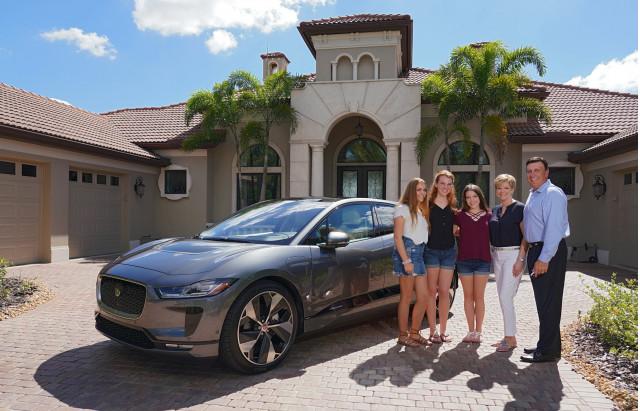 First Jaguar I-Pace U.S. retail delivery  -  October, 2018