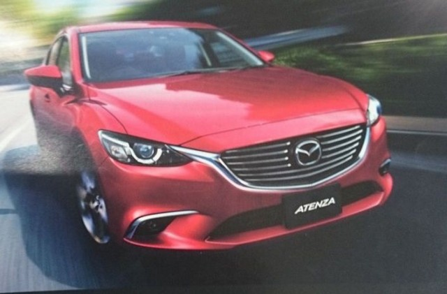First look at refreshed Mazda 6 (Atenza) - WorldScoop forum