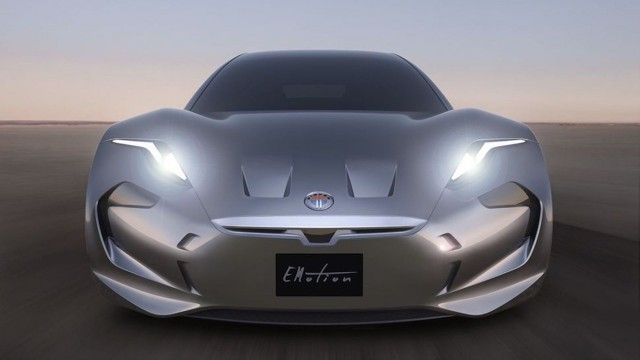 Teaser For Fisker Emotion Debuting On August 17 2017