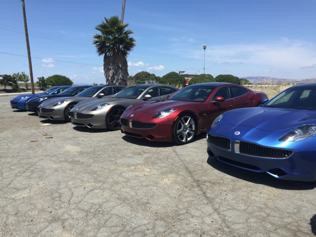 Fisker Karma owner group meeting, May 2015 [photo: Refael Azi]
