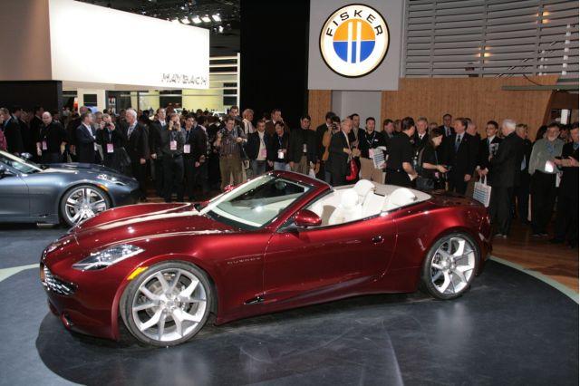 Auto Show picture of concept Fisker Karma S