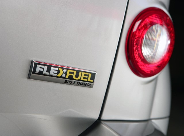FlexFuel badge on E85-capable 2009 Chevrolet HHR
