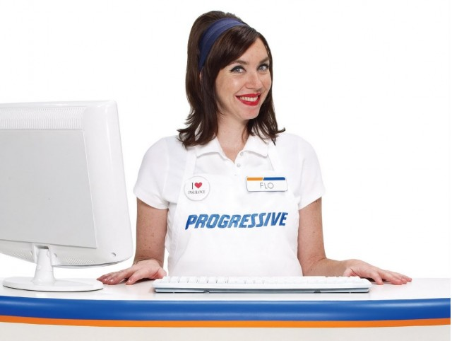 Flo, for Progressive Insurance