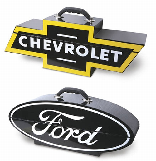 Chevy And Ford Fans Know Where To Put Their Tools - Chevrolet ford