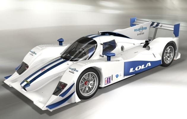 Lola is the first chassis manufacturer to offer the newly announced EcoBoost V-6 in their LMP2 Chassis.