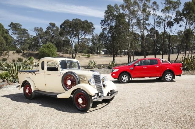 Ford Celebrates 80th Anniversary Of Australian 'Ute' Pickups