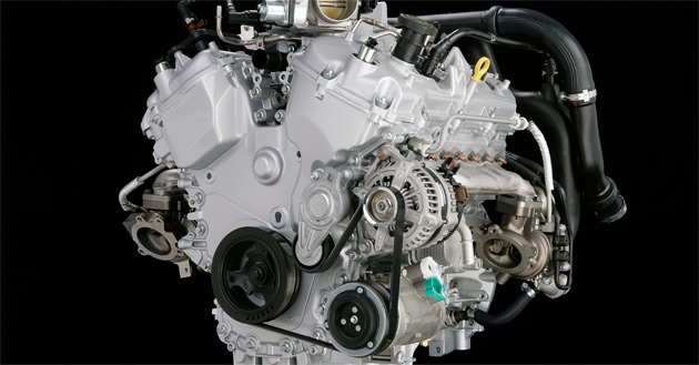 The first EcoBoost engine is a 3.5L petrol V6 with 355hp (265kW) and 350ft-lb (474Nm) of torque
