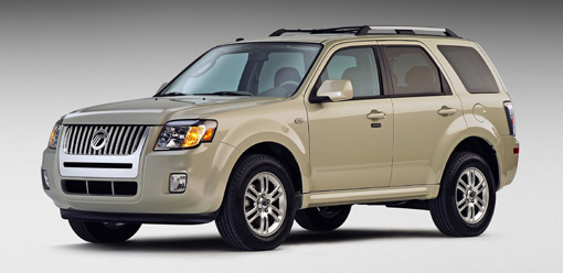 ford escape and mercury mariner updated for 2009. Black Bedroom Furniture Sets. Home Design Ideas