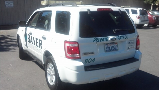 2008 Ford Escape Hybrid Owned By Bayer Protective Services Sacramento Ca