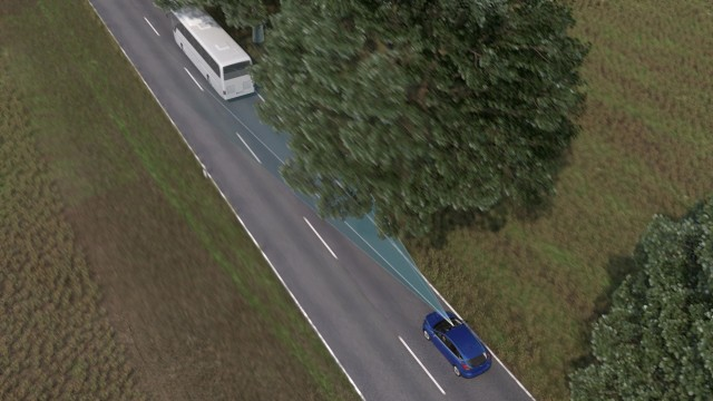 Ford Evasive Steering Alert