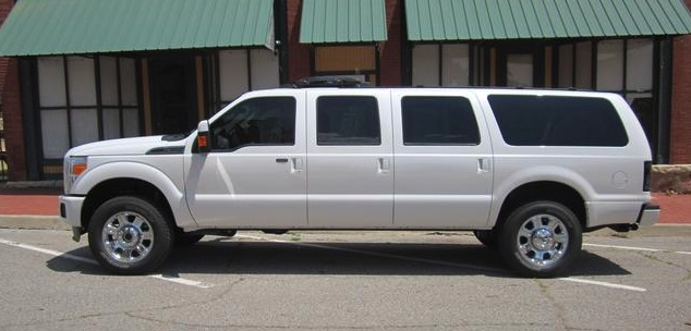 The Ford Excursion Is Still Alive And It S Available With Six Doors