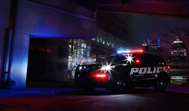 New 2020 Ford Explorer Hybrid Suv Teased First As A Cop Car