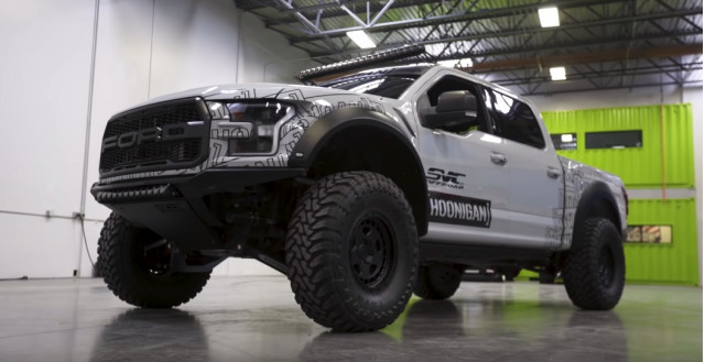 Ken Block's Ford F-150 Raptor by SVC